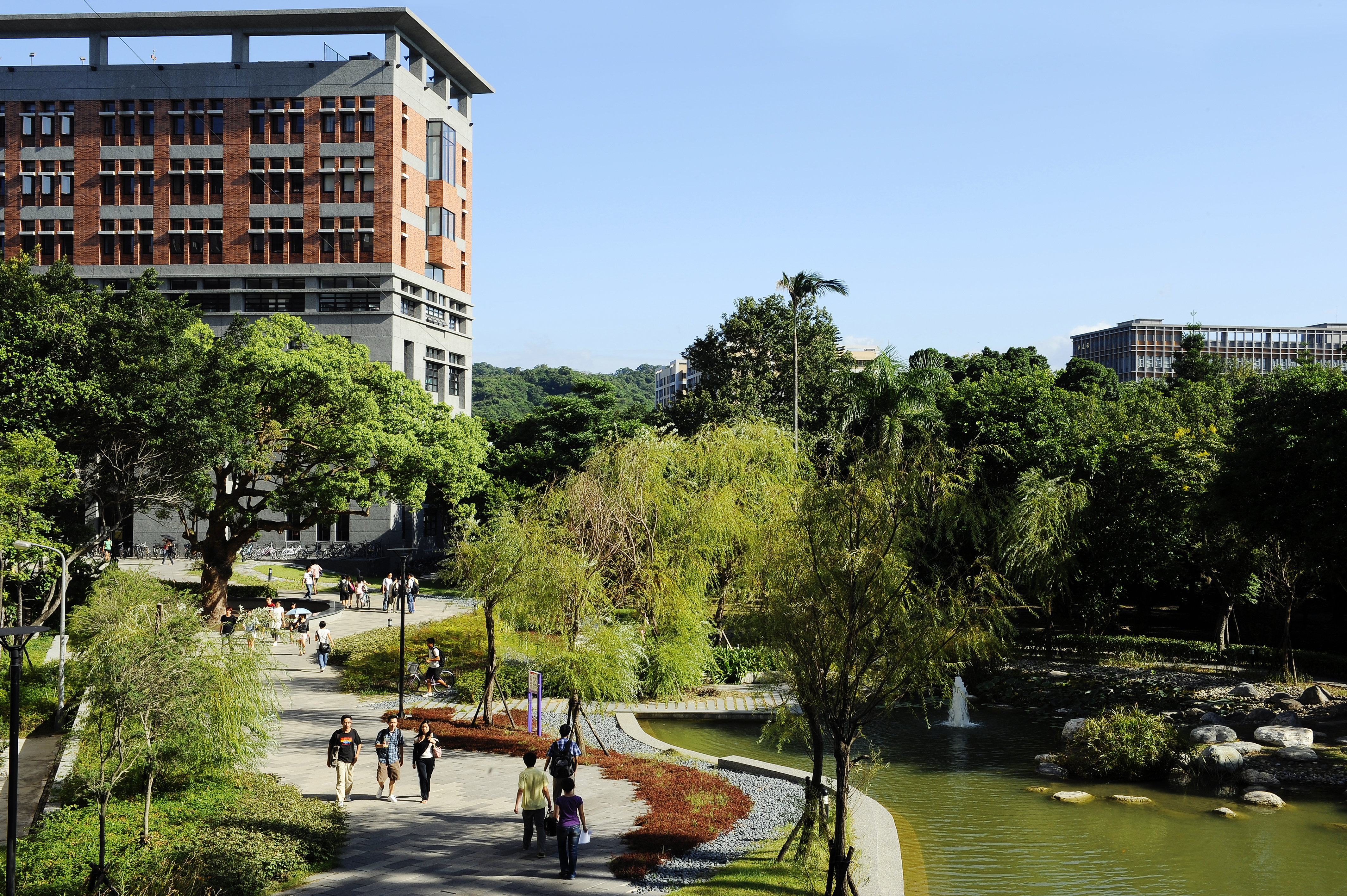 Campus der National Taiwan University in Taipeh /Foto: NTU
